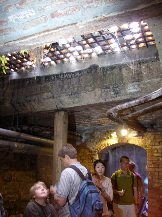 A Tunnel On the Underground Seattle Tour