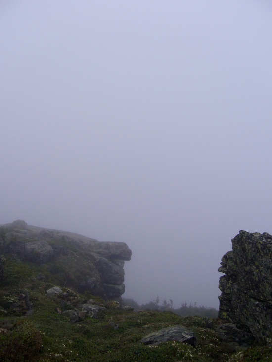 View from the Franconia Ridge to the west.